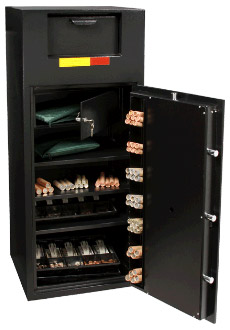 safes large safe with money
